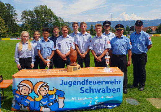 Aktionstag der JF Schwaben in Lindau am 14.07.2018