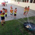 Kinderfeuerwehr Wemding: Löschen