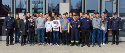 28 Teilnehmer der MTA Zwischenprüfung in Monheim am 13. April 2019.