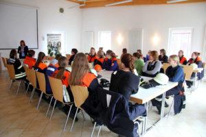 Bürgermeisterin Petra Wagner begrüßte die Teilnehmerinnen