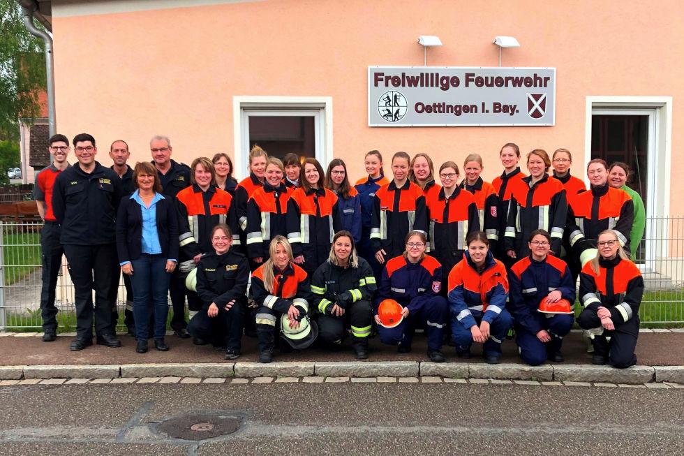 Gruppenfoto der Teilnehmerinnen des Frauentags im Ries (11.05.2019)