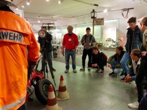 Führung durch das Feuerwehrmuseum in Nürnberg