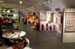 Zahlreiche Ausstellungsstücke im Nürnberger Feuerwehrmuseum